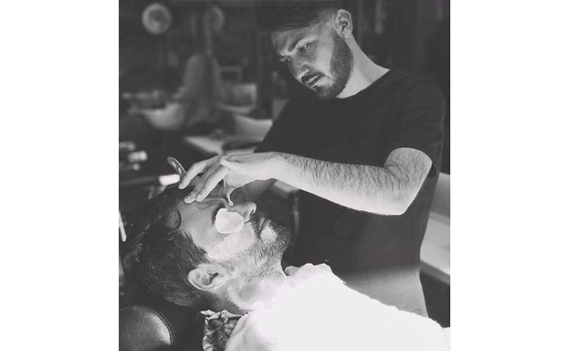 Antonio Laezza - Master Barber from Naples, Italy